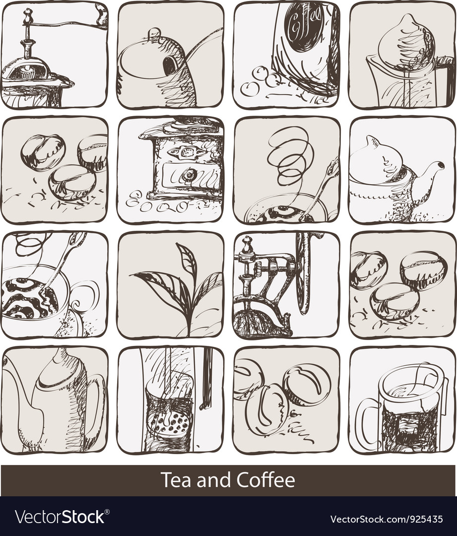 Abstraction coffee vector | Price: 3 Credit (USD $3)