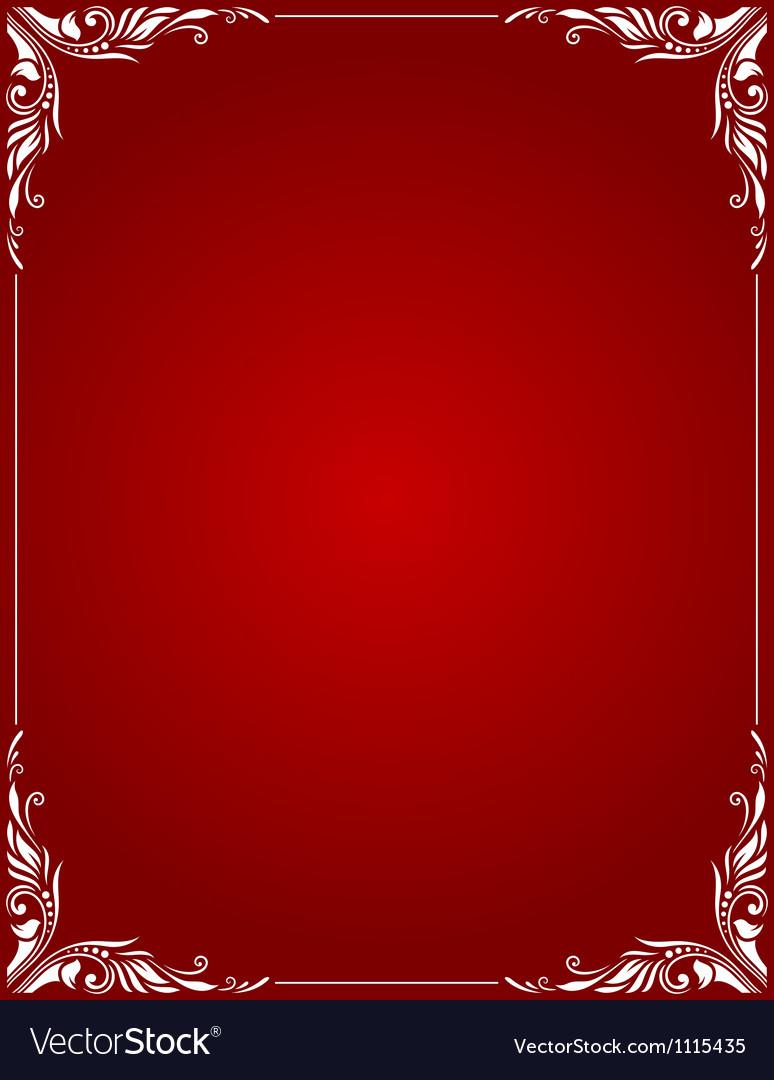Decorative border style 3 vector | Price: 1 Credit (USD $1)
