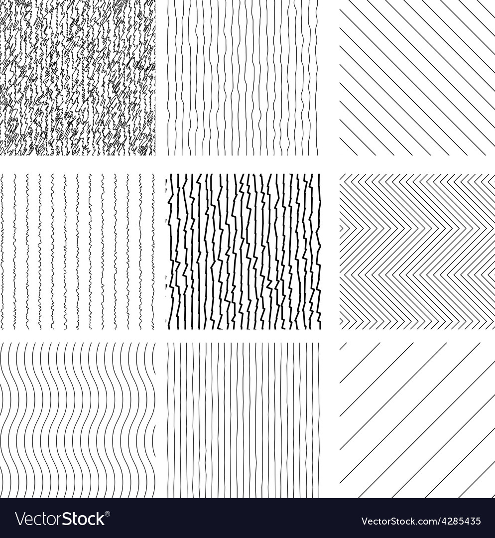 Set of hand drawn style textures vector | Price: 1 Credit (USD $1)
