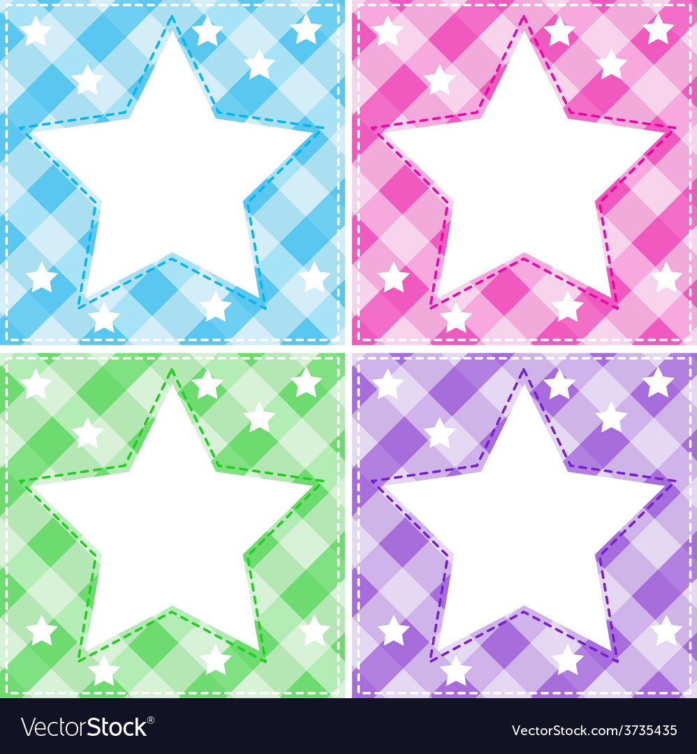 Stars template vector | Price: 1 Credit (USD $1)