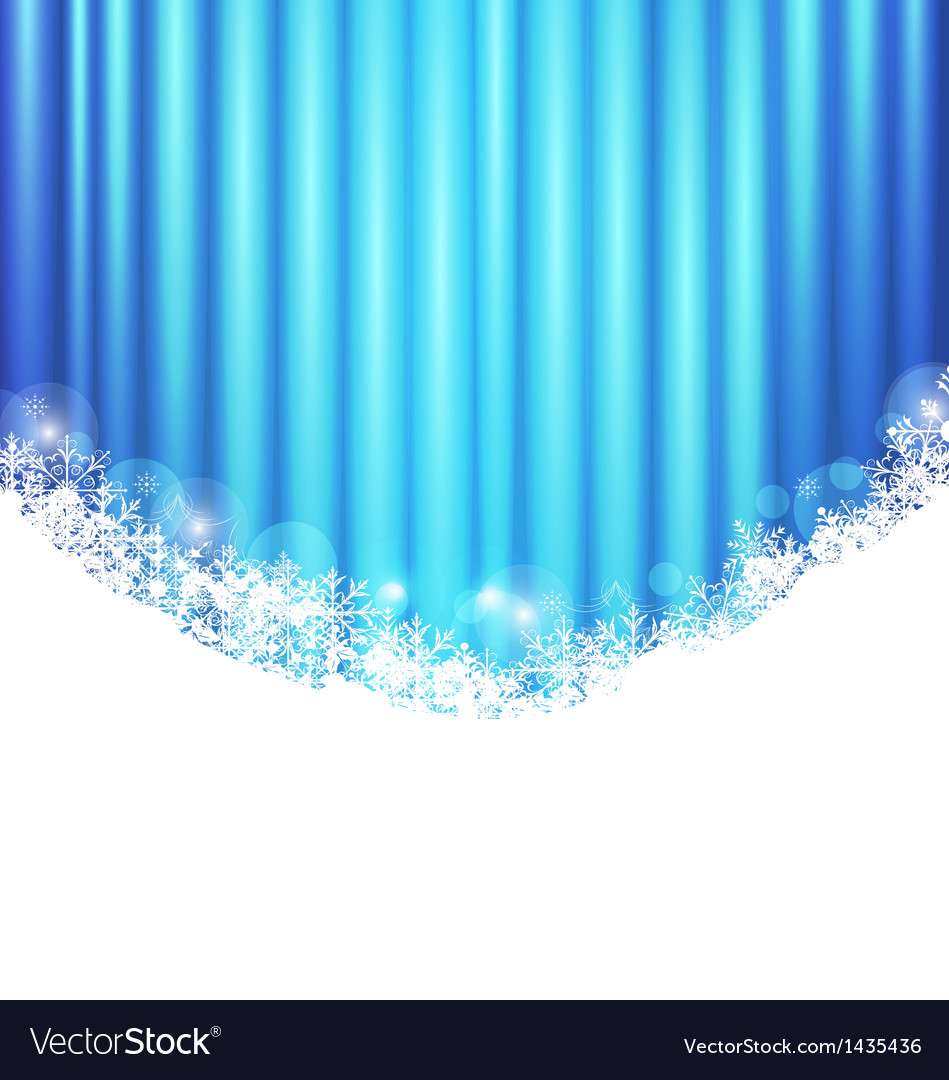Christmas abstract wallpaper sparkle snowflakes vector | Price: 1 Credit (USD $1)