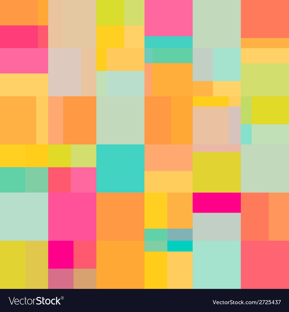 Art shape colors design  squares abstract vector | Price: 1 Credit (USD $1)