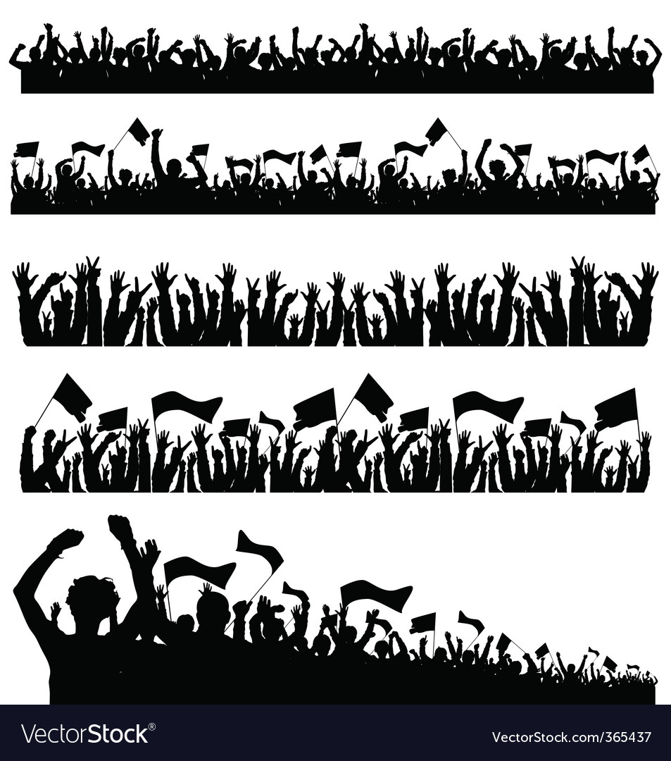 Crowd 1 vector | Price: 1 Credit (USD $1)