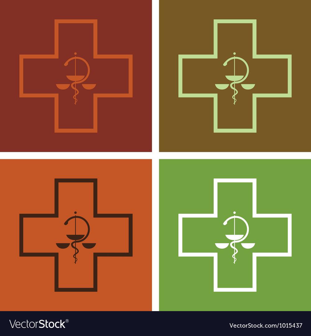 Medical symbol vector | Price: 1 Credit (USD $1)