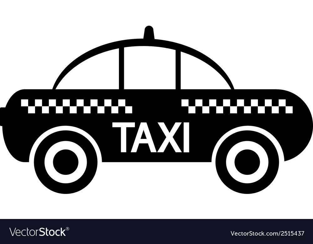 Taxi car icon vector | Price: 1 Credit (USD $1)