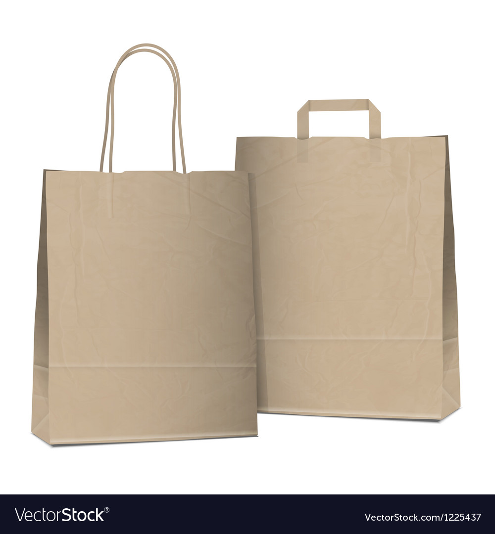 Two bags vector | Price: 1 Credit (USD $1)