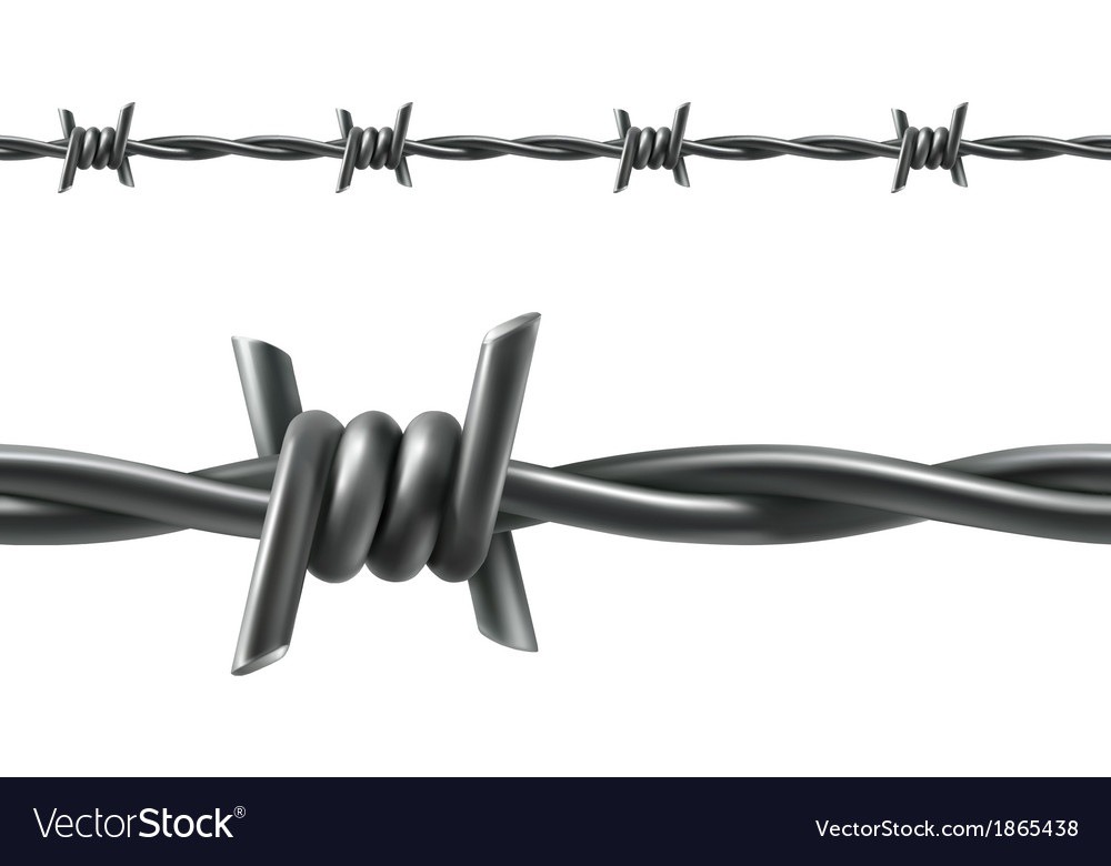 Barbed wire seamless vector | Price: 1 Credit (USD $1)