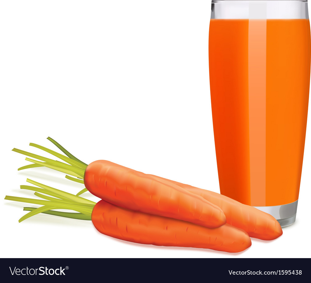 Carrots juice2 vector | Price: 1 Credit (USD $1)