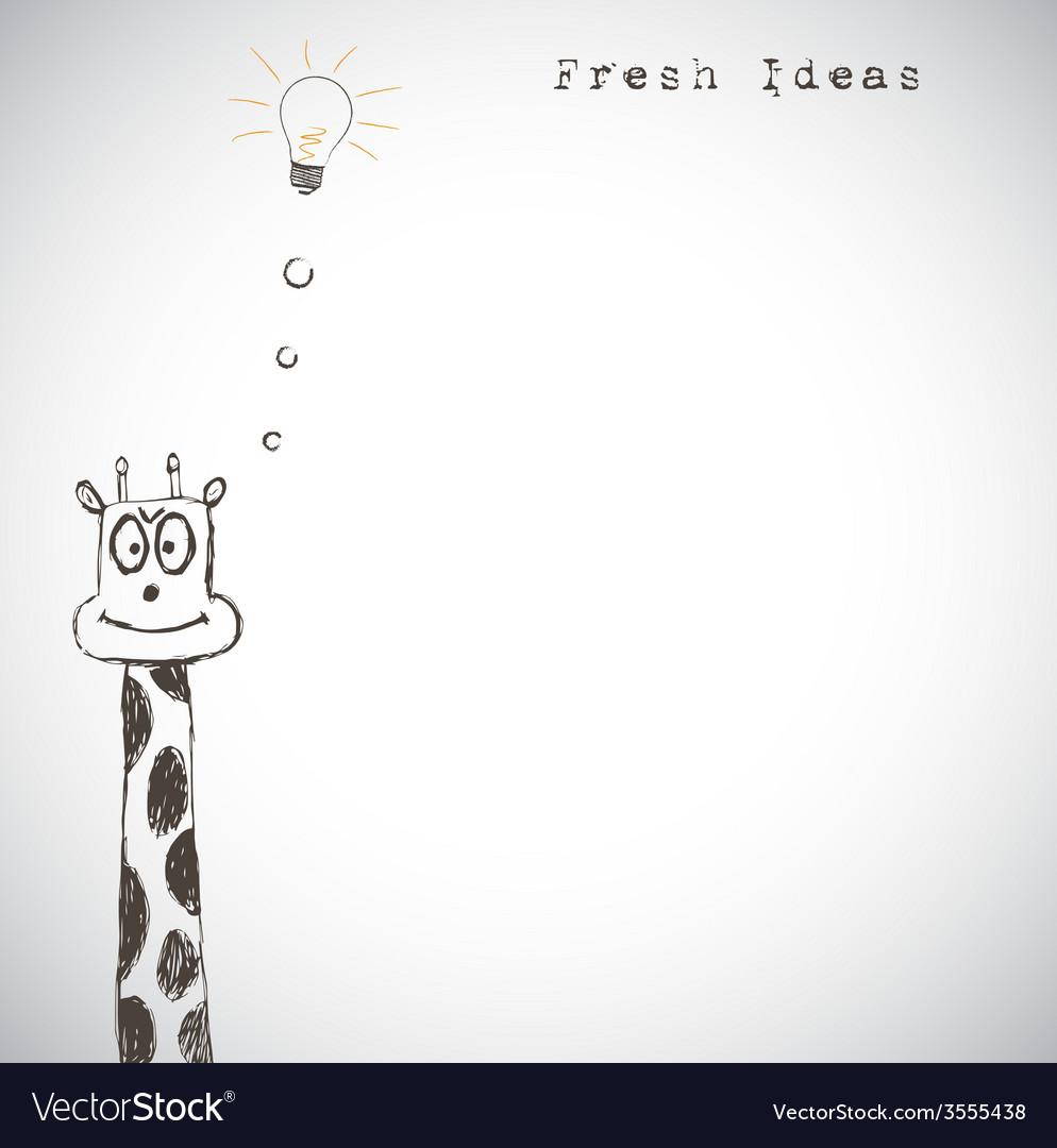 Fresh idea art vector   Price: 1 Credit (USD $1)