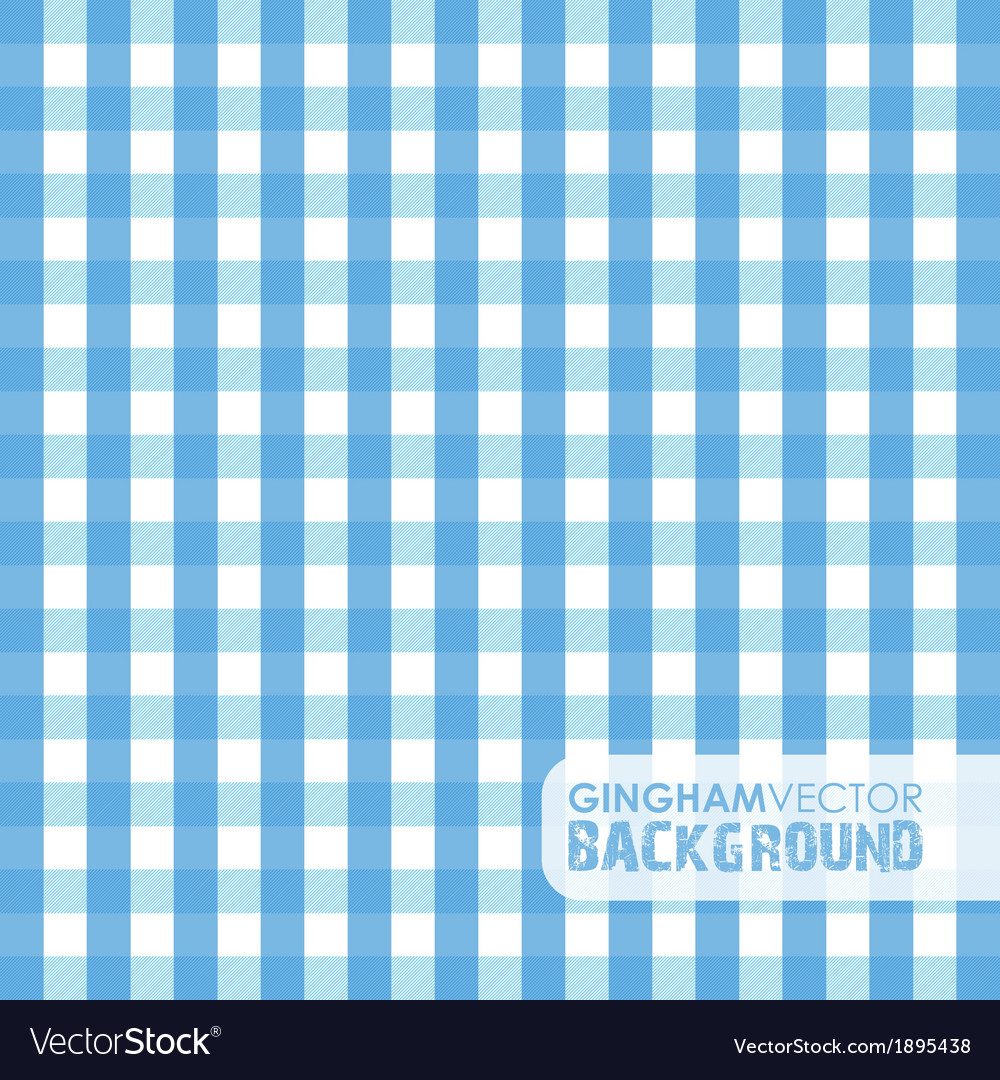 Gingham blue vector | Price: 1 Credit (USD $1)