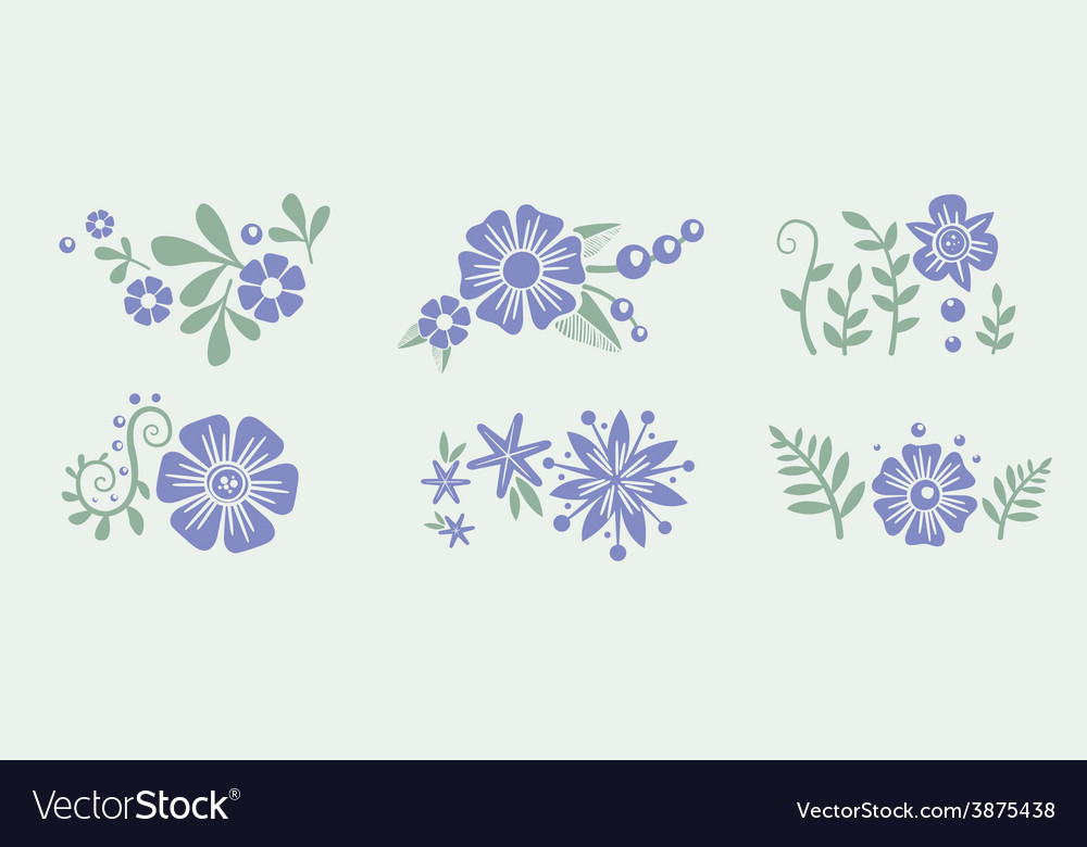 Number eight 8 of flowers sketch element for vector   Price: 1 Credit (USD $1)