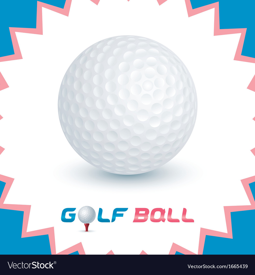 Golf ball icons vector | Price: 1 Credit (USD $1)