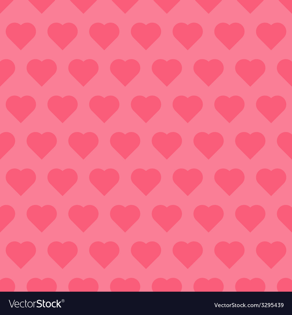 Seamless pattren with hearts vector | Price: 1 Credit (USD $1)