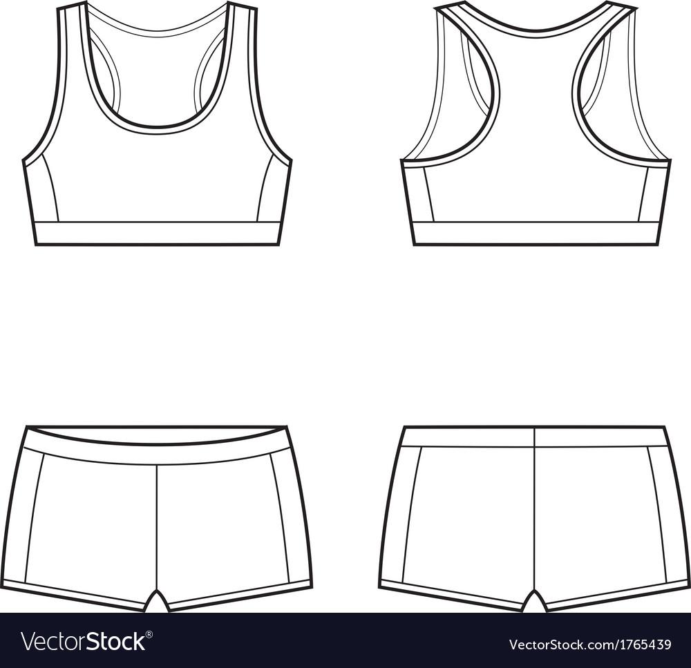 Sport underwear vector | Price: 1 Credit (USD $1)