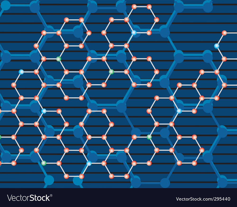 Abstract background of the molecules vector | Price: 1 Credit (USD $1)