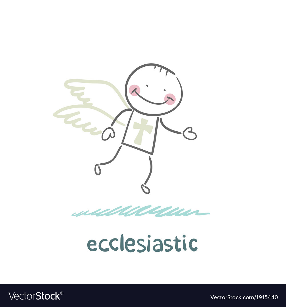 Ecclesiastic flies vector | Price: 1 Credit (USD $1)