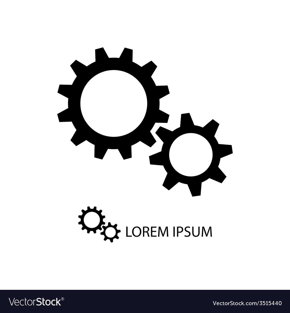 Gear wheels as logo vector | Price: 1 Credit (USD $1)