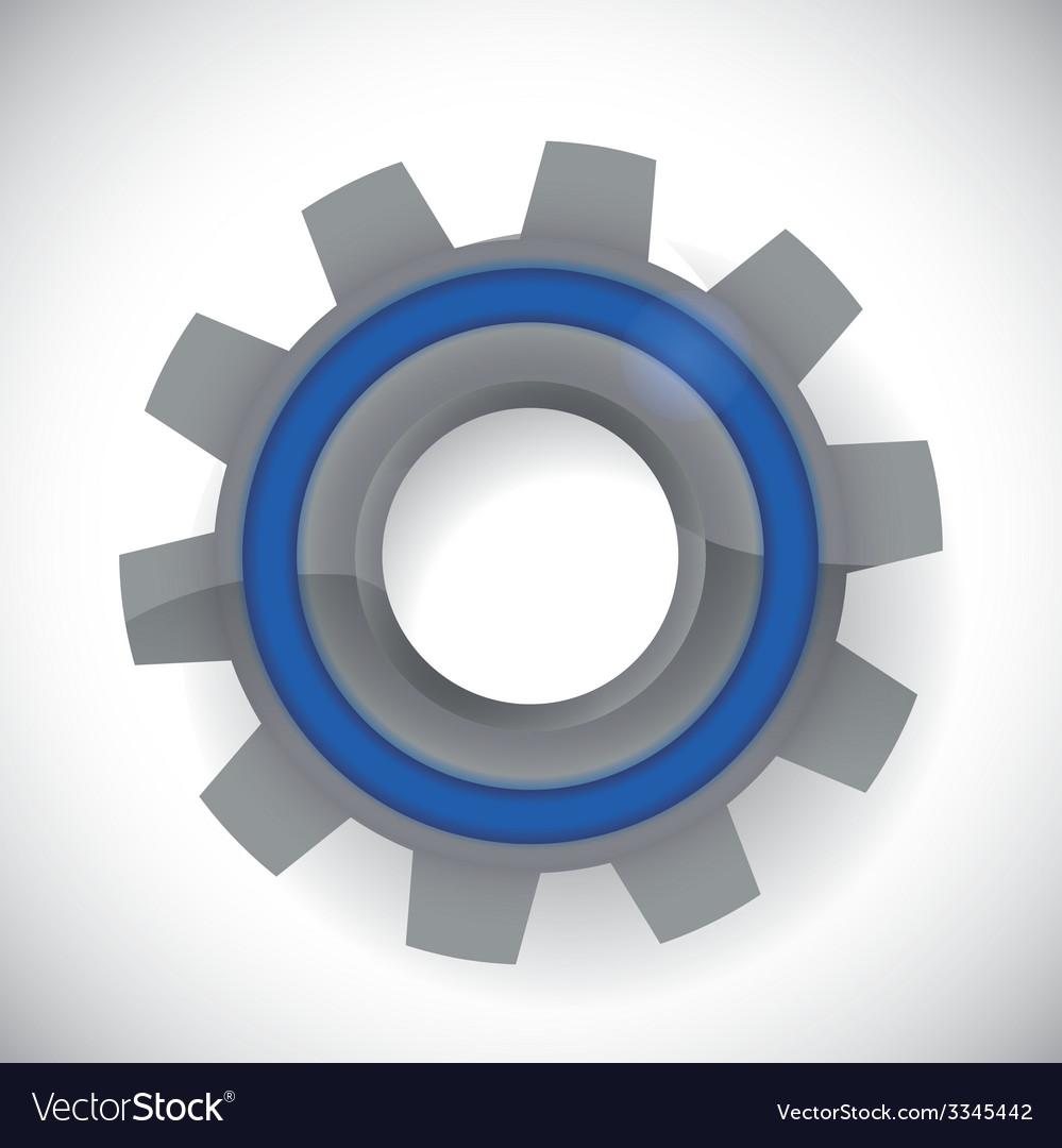 Gear design vector | Price: 1 Credit (USD $1)
