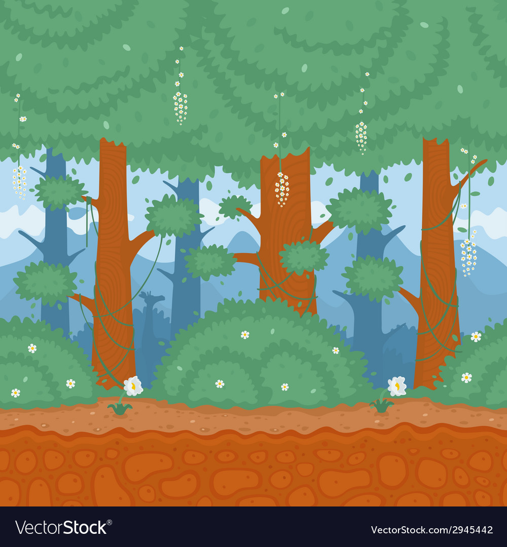Pattern nature forest vector | Price: 1 Credit (USD $1)