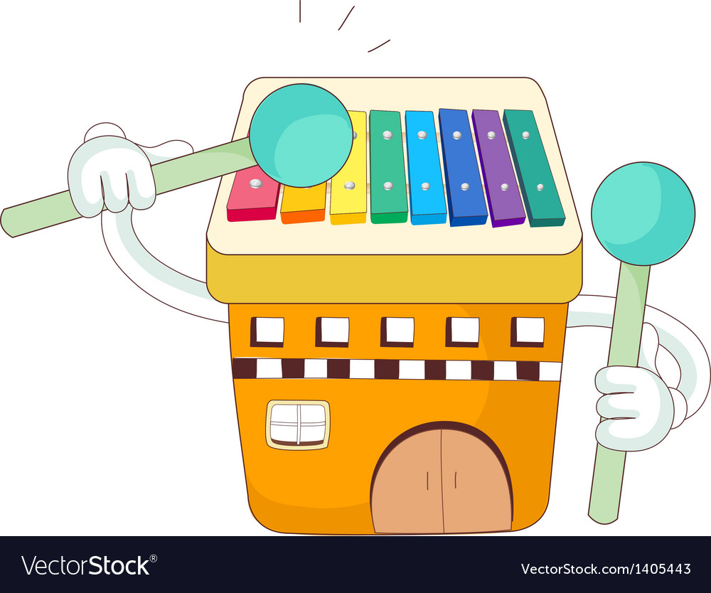 A view of xylophone vector | Price: 1 Credit (USD $1)