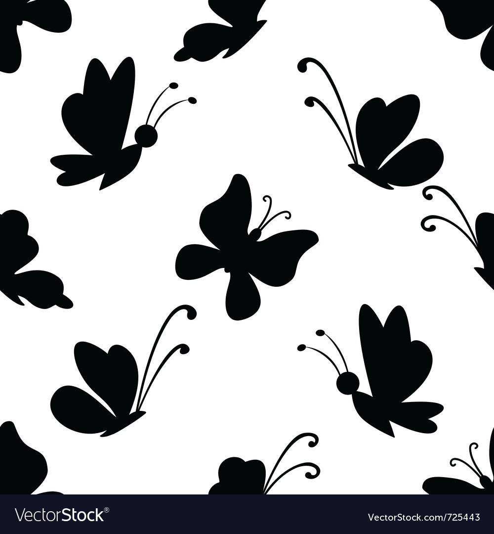 Background butterflies vector | Price: 1 Credit (USD $1)