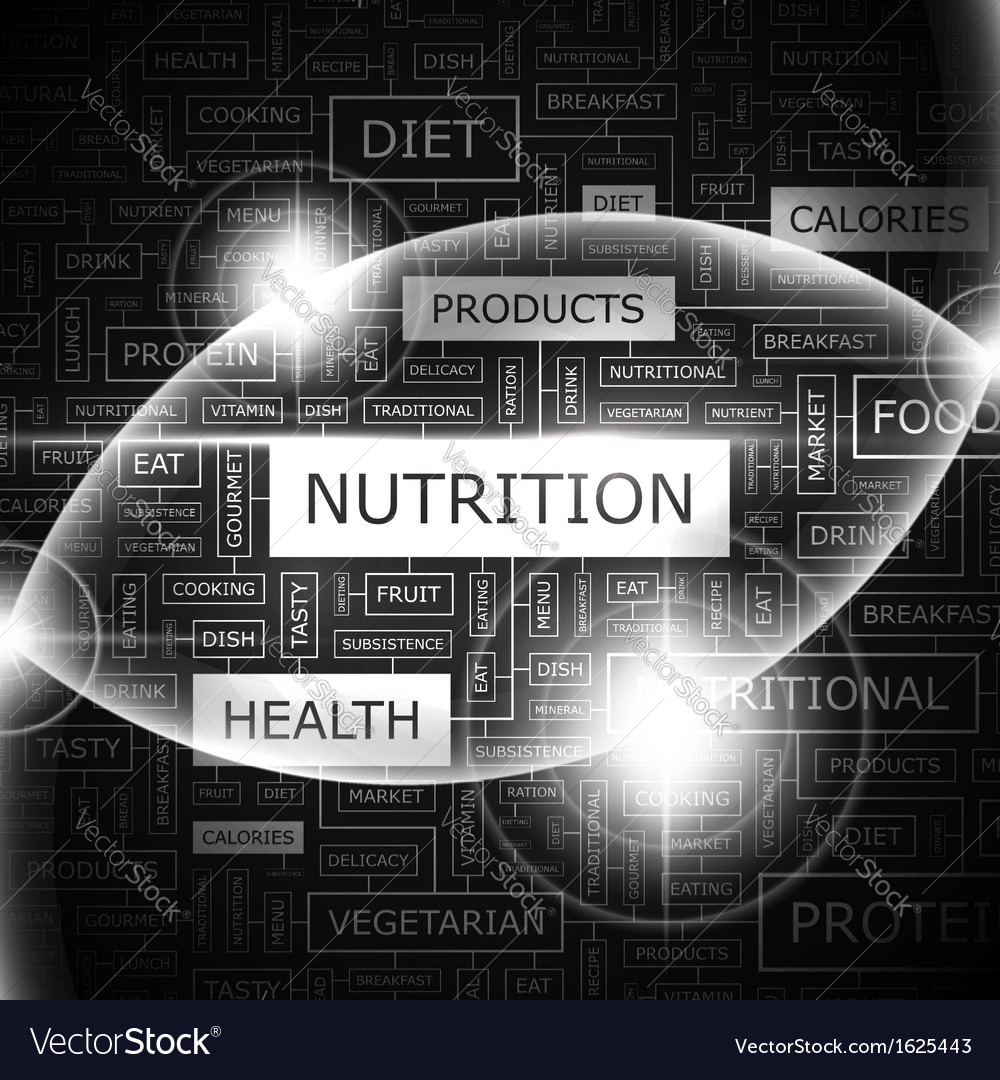 Nutrition vector | Price: 1 Credit (USD $1)
