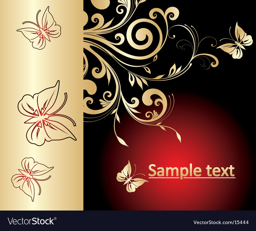 Flower abstract background vector | Price: 1 Credit (USD $1)
