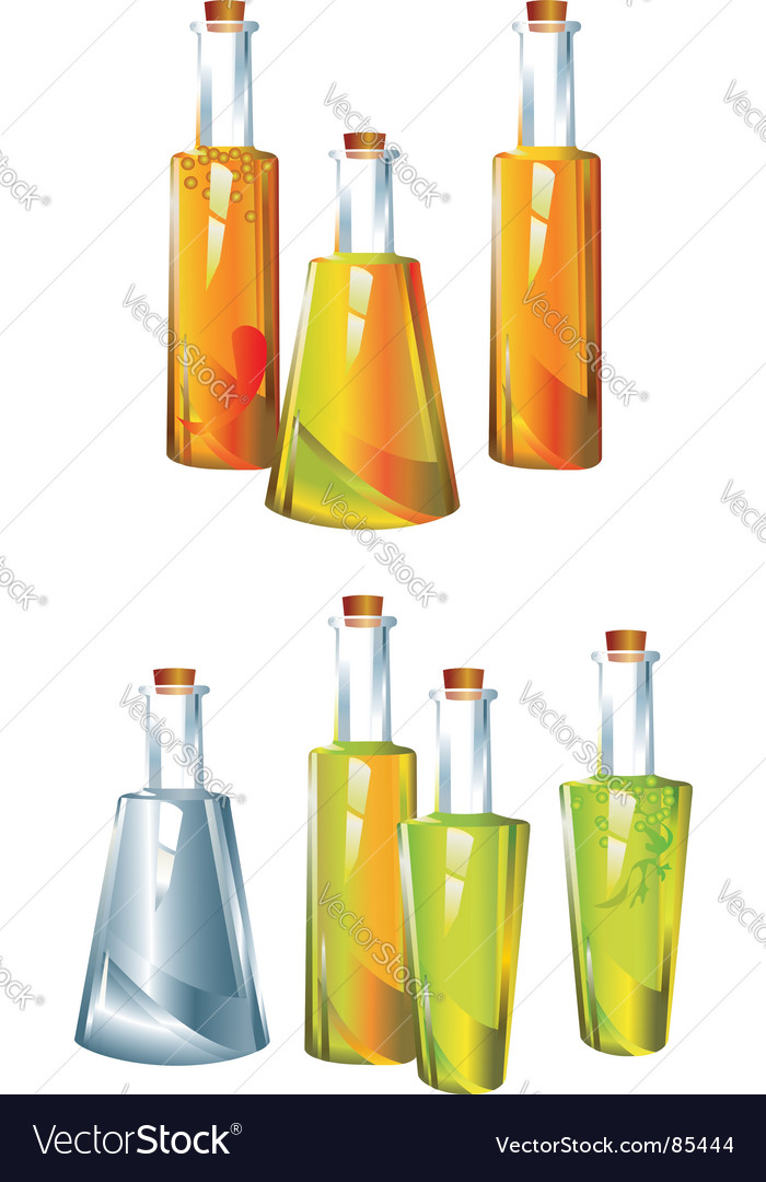 Oil vinegar vector | Price: 1 Credit (USD $1)