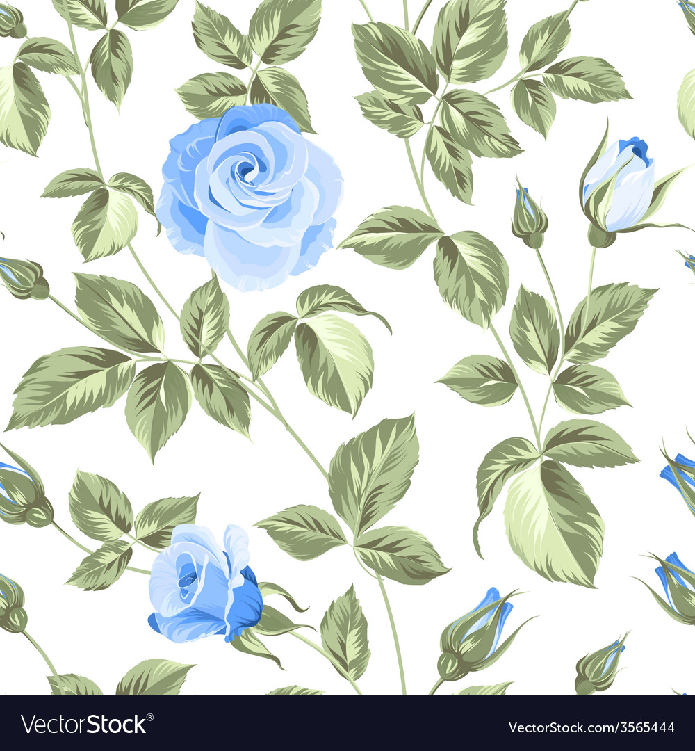 Roses pattern vector   Price: 1 Credit (USD $1)
