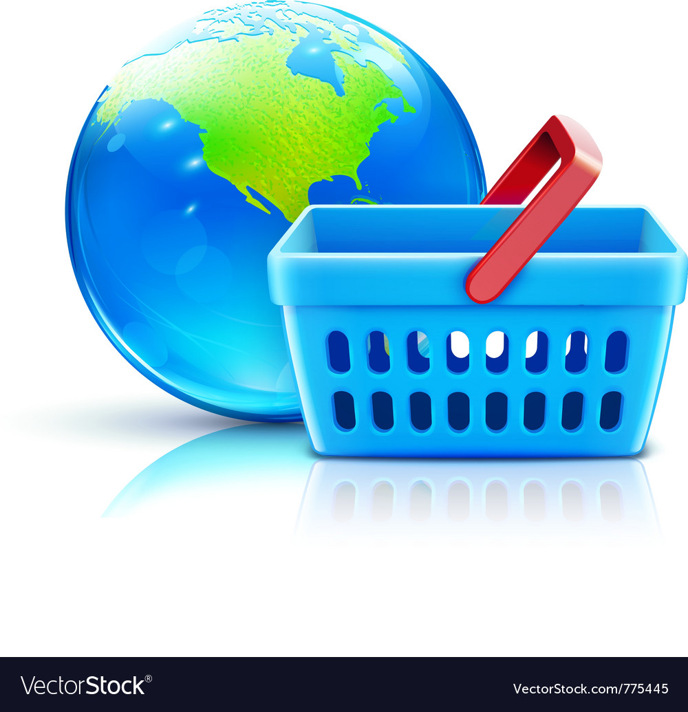 Global shopping vector | Price: 3 Credit (USD $3)