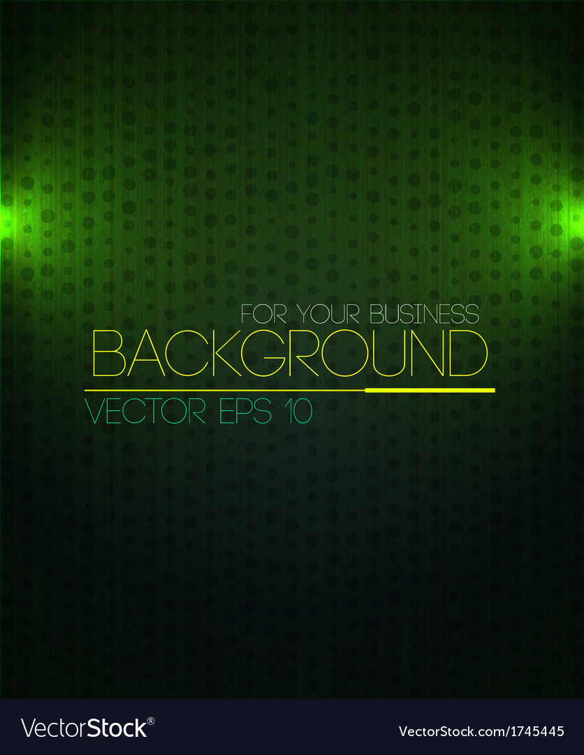 Spotlight background green vector | Price: 1 Credit (USD $1)