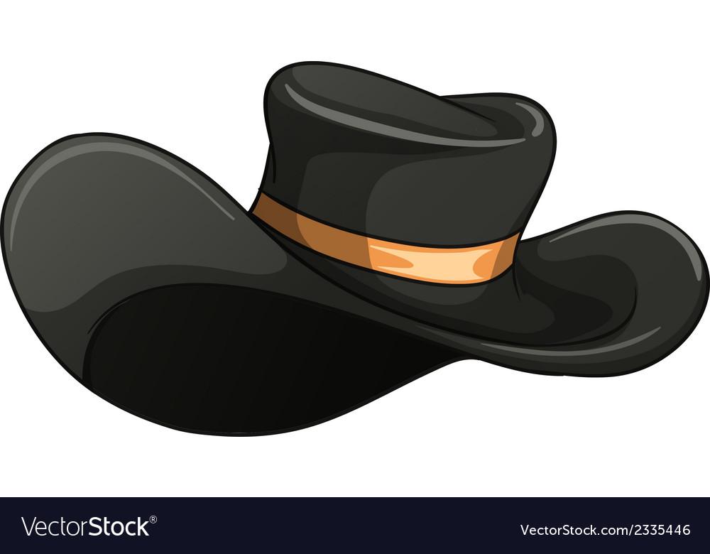 A dark gray hat vector | Price: 1 Credit (USD $1)