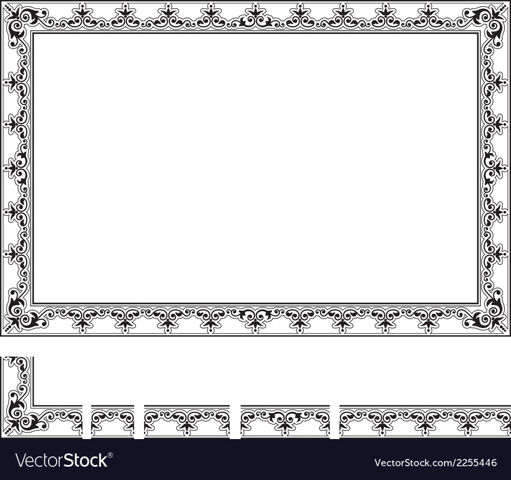 Modular frame vector | Price: 1 Credit (USD $1)