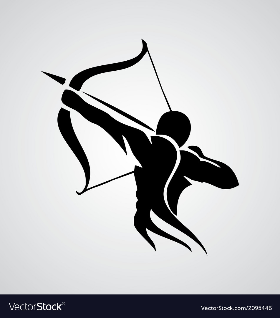 Tribal sagittarius vector | Price: 1 Credit (USD $1)