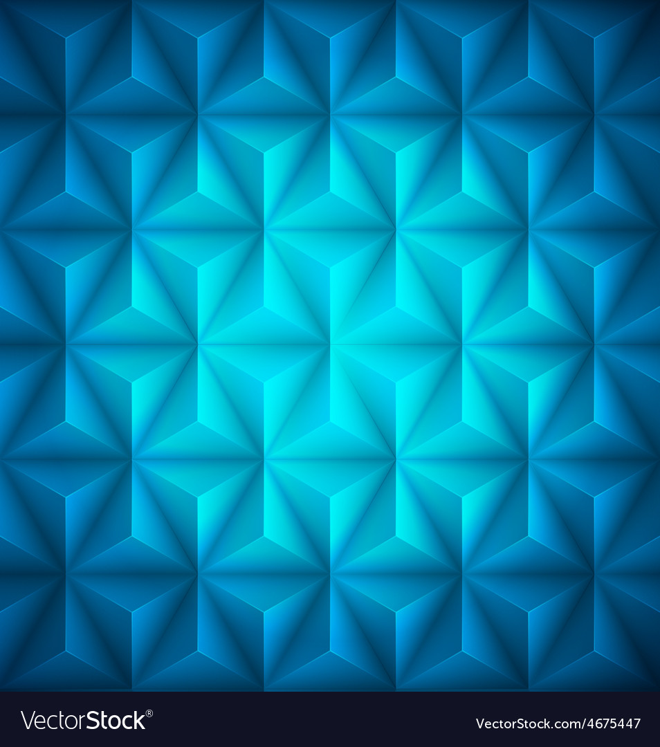 Blue geometric abstract low-poly paper background vector | Price: 1 Credit (USD $1)