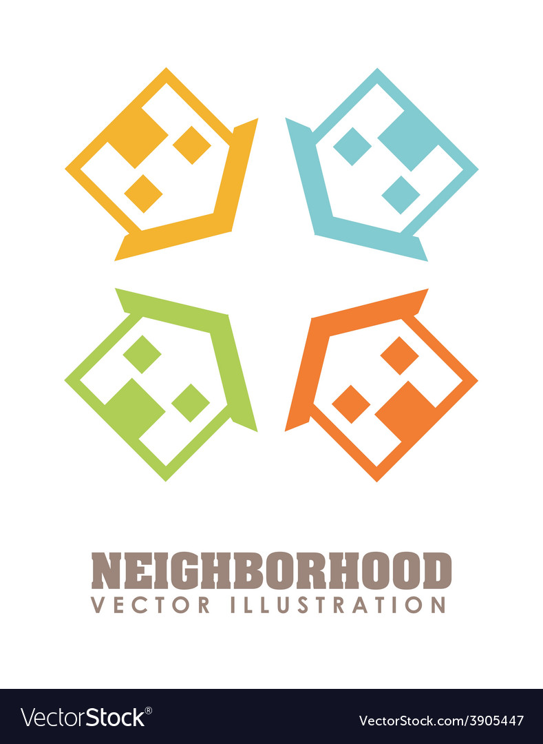 Neighborhood vector | Price: 1 Credit (USD $1)