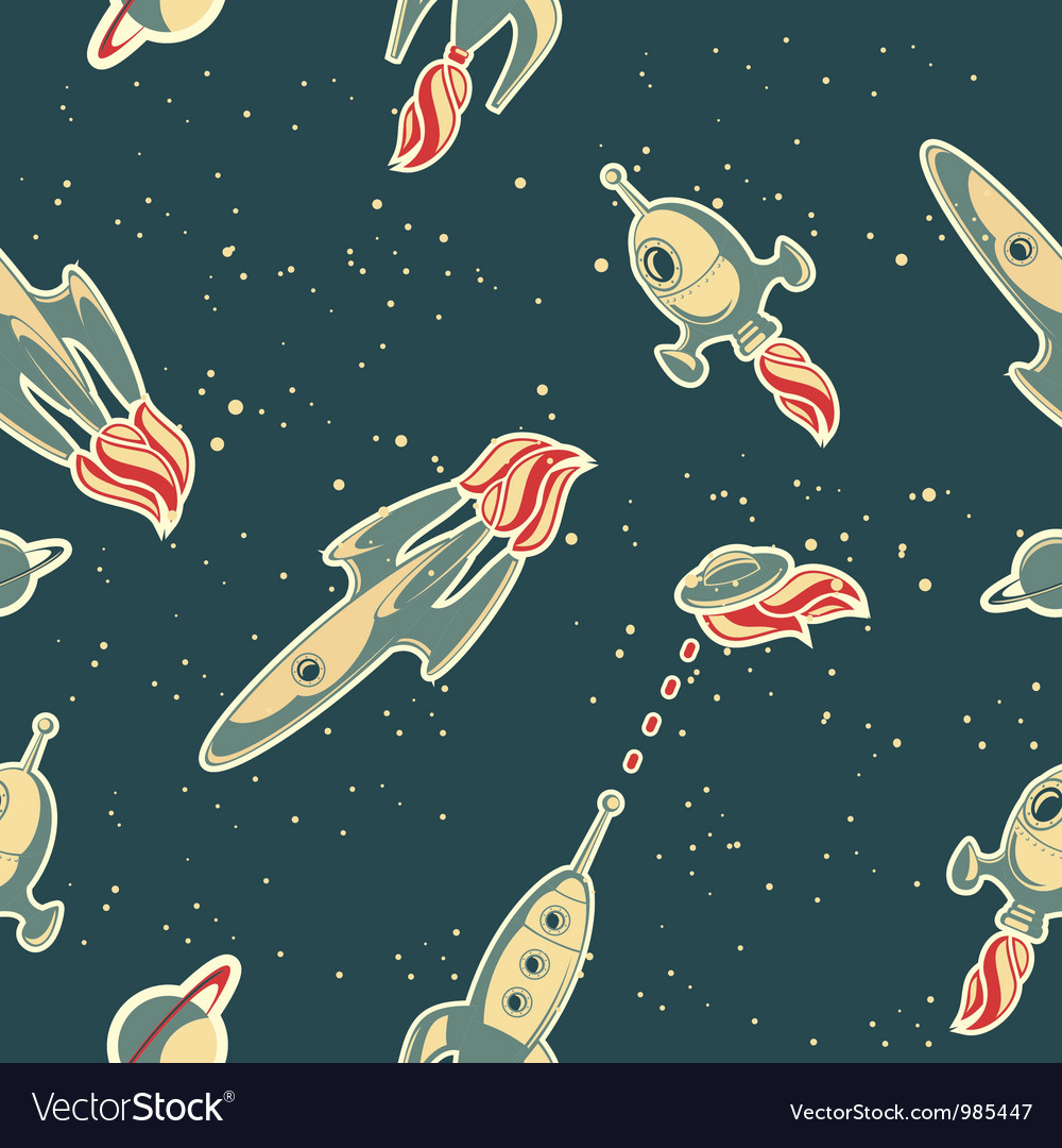 Spaceship wallpaper vector | Price: 1 Credit (USD $1)