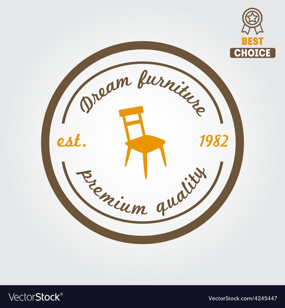 Vintage logo badgeemblem or logotype for vector | Price: 1 Credit (USD $1)