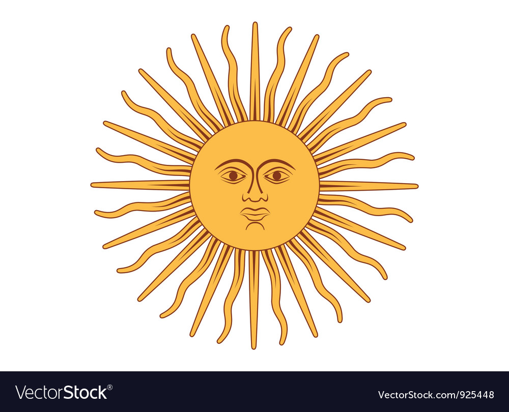 Sun of may vector | Price: 1 Credit (USD $1)