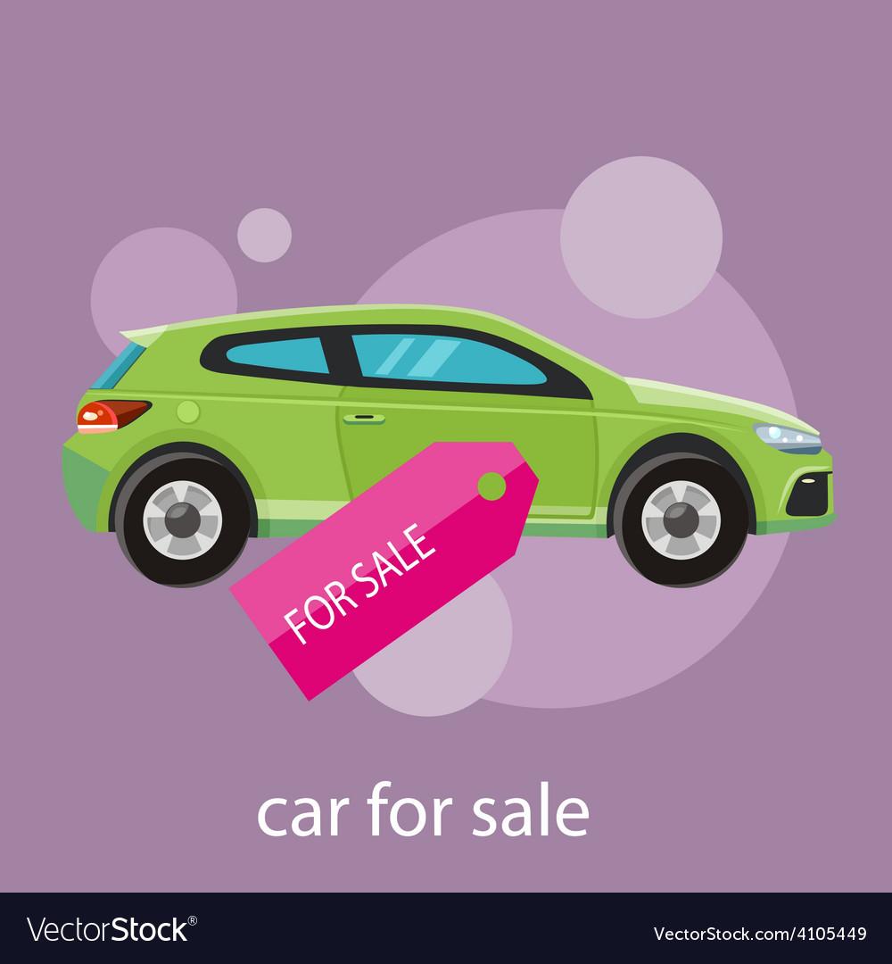 Car sale design template vector | Price: 1 Credit (USD $1)