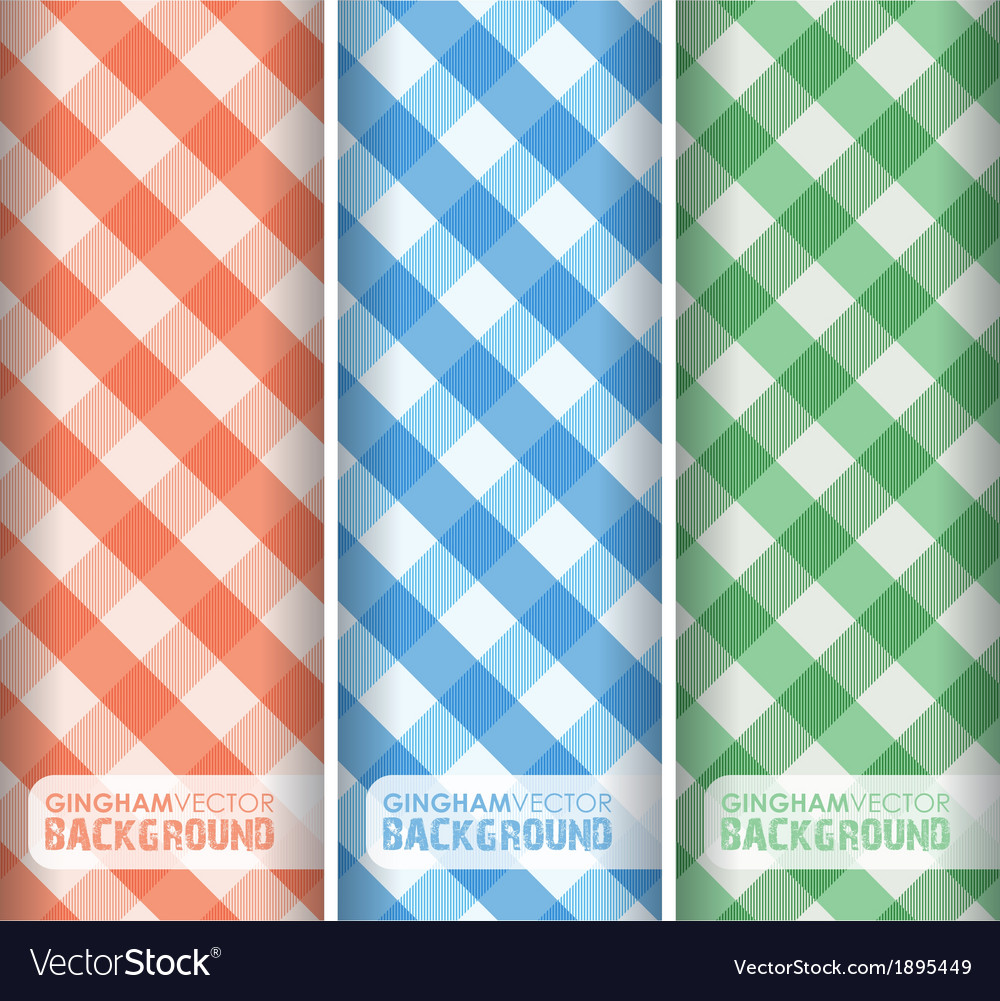 Gingham multicoloured vector | Price: 1 Credit (USD $1)