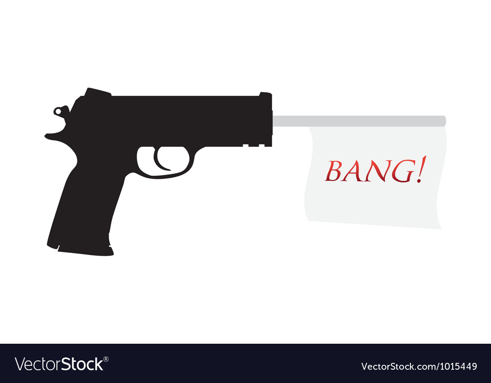 Gun bang vector | Price: 1 Credit (USD $1)
