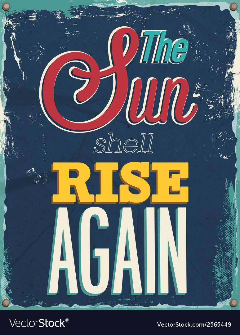 The sun shell rise again vector | Price: 1 Credit (USD $1)