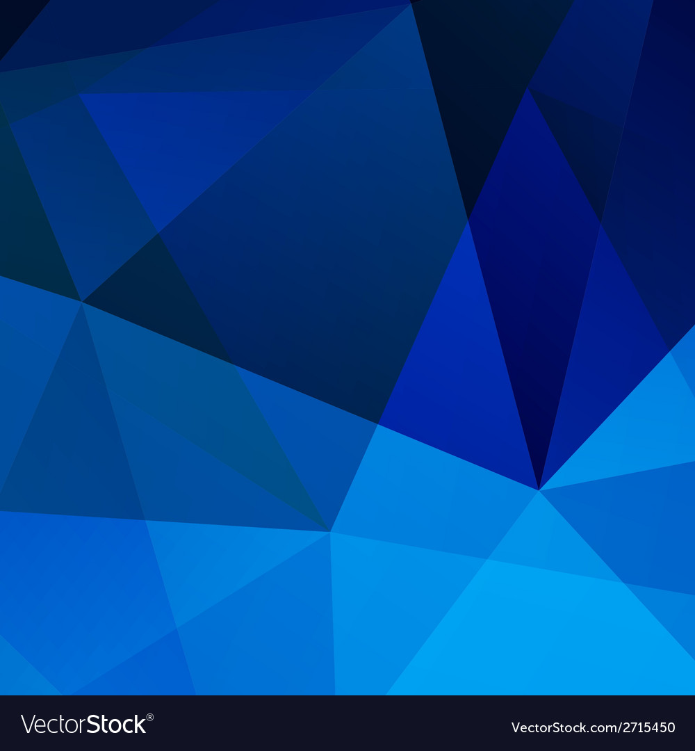 Abstract blue geometric background for your design vector | Price: 1 Credit (USD $1)