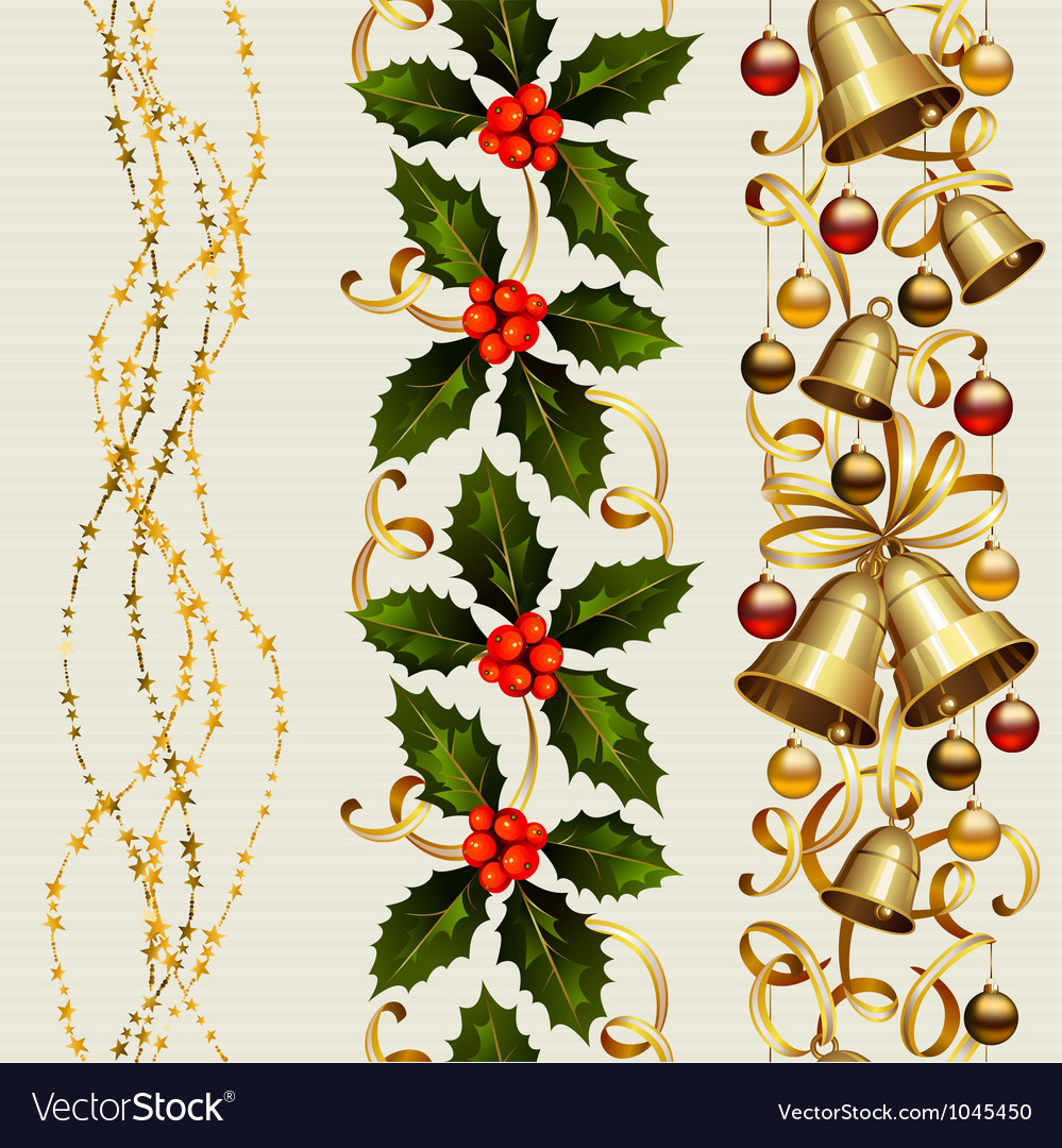 Christmas seamless vector | Price: 3 Credit (USD $3)