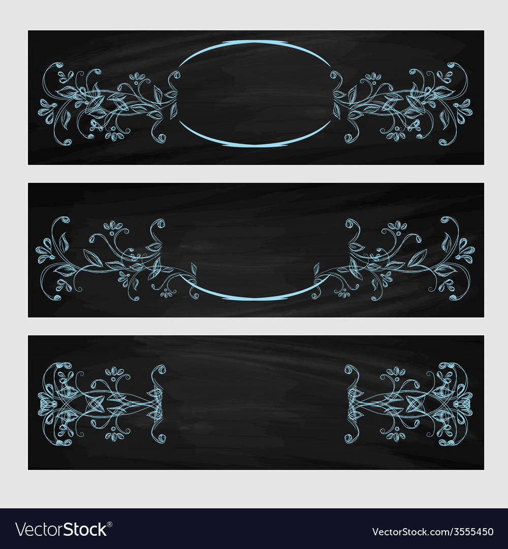 Design element beauty decorative frame for text vector | Price: 1 Credit (USD $1)
