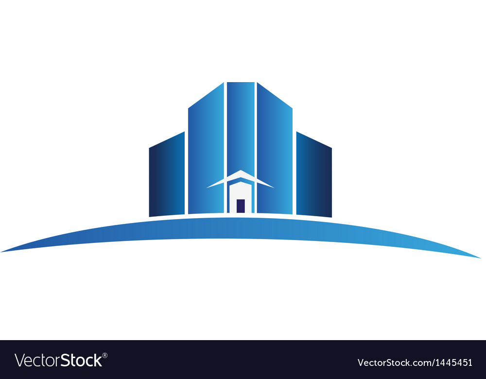 Buildings apartments logo vector | Price: 1 Credit (USD $1)