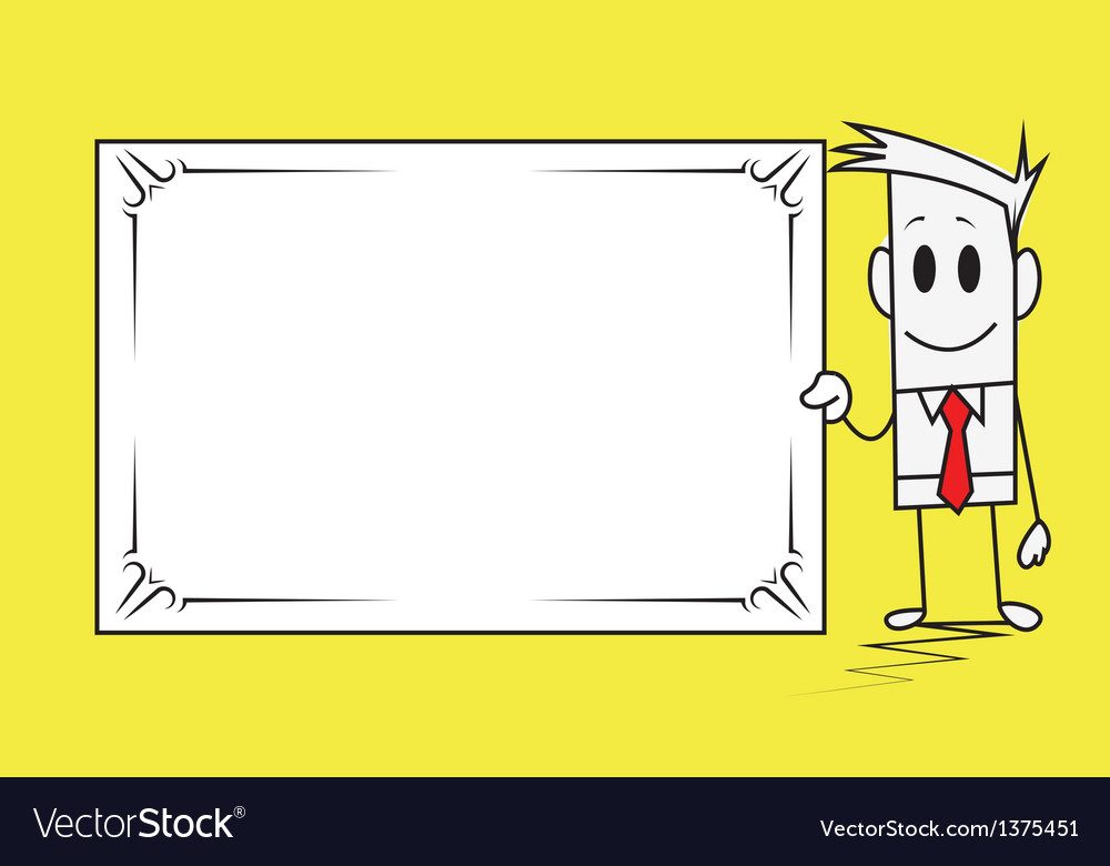 Square guy-banner vector   Price: 1 Credit (USD $1)