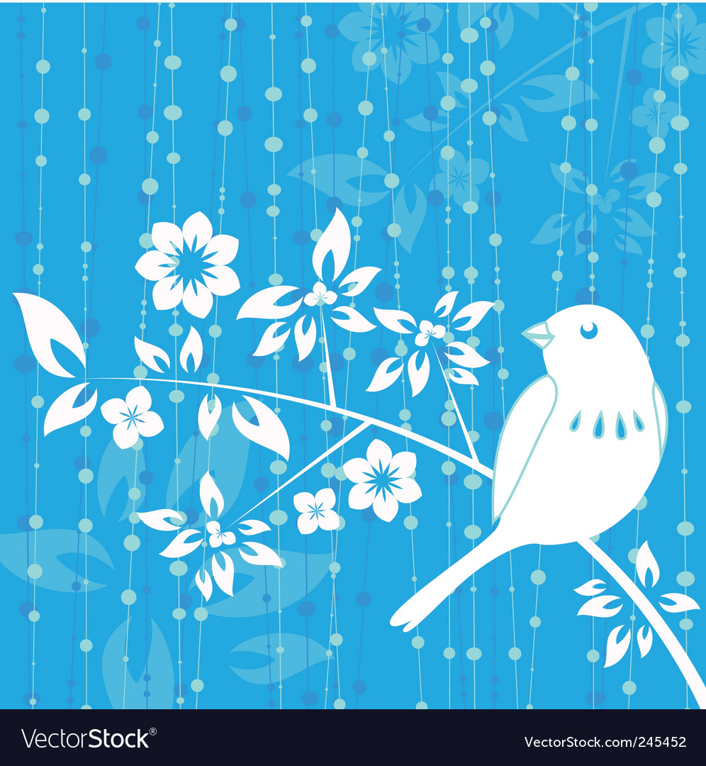 Bird decoration vector | Price: 1 Credit (USD $1)