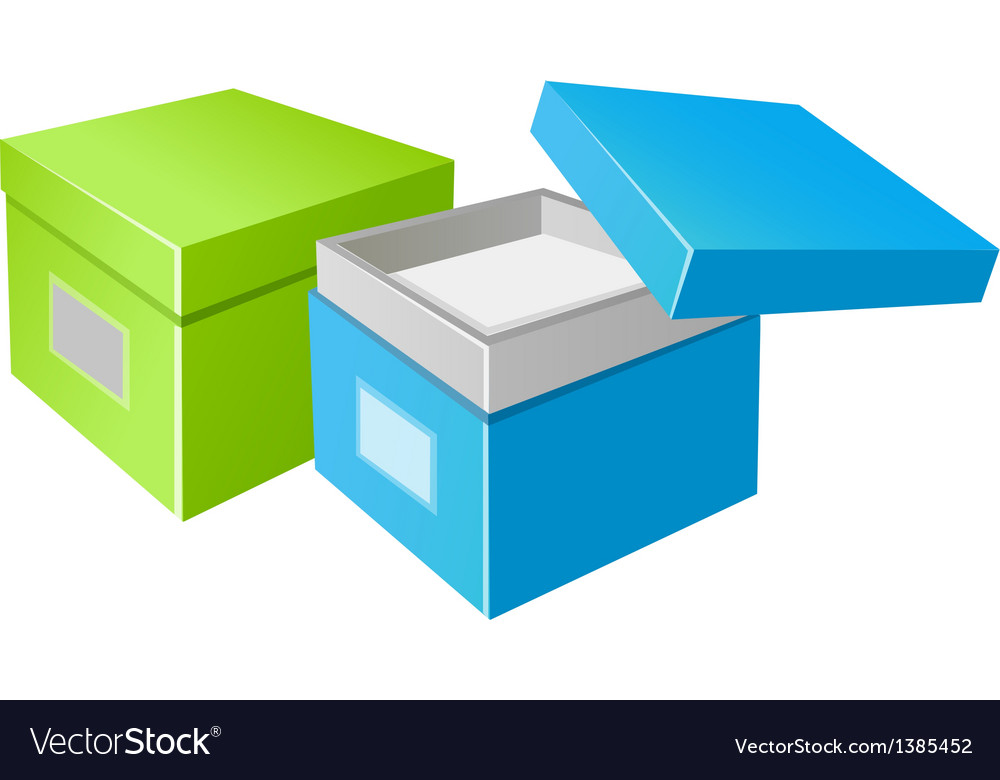 Icon boxes vector | Price: 1 Credit (USD $1)